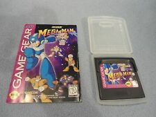 Mega Man - Sega Game Gear - Megaman Game + Manual - Nice Condition!