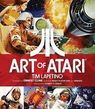 ART OF ATARI NEW HARDCOVER BOOK