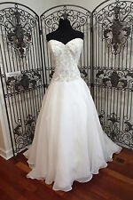 180) CALLISTA RIO SZ 20 FORMAL WEDDING GOWN DRESS