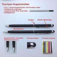 10 Stylus Touchpen Eingabestift Kugelschreiber Ball Pen smartphone tablet iphone