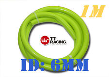 "Silicone 1/4"" 6mm Vacuum Tube Hose Sold by Meter 1 M 3.3FT Silicon Lime"
