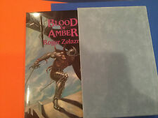 BLOOD OF AMBER SIGNED limited edition by Roger Zelazny #5 /400
