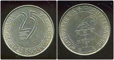PORTUGAL 25 escudos  1984  ( 10 em anniversaire de la revolution )