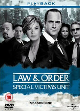 Law & Order . Special Victims Unit . Complete Season 9 . New York . 5 DVD . NEU