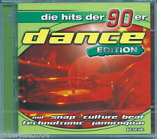 Dance 90 Edition (2004) 2CD NUOVO Snap! Rhythm is a dancer. 2 Unlimited No Limit