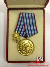 BULGARIAN MEDAL10 YEARS SERVICE IN THE INTERNAL MINISTRY 3rd CLASS OLD COAT MVR