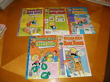Lot of 9 Diff Richie Rich Bank Book$ #35-56 1978-82  AVG VF+ & 2 More HARVEYS