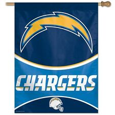 """SAN DIEGO CHARGERS 27""""X37"""" BANNER FLAG BRAND NEW WINCRAFT"""