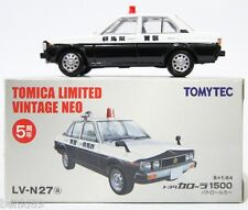 1:64 SCALE TOMICA LIMITED VINTAGE NEO LV-N27a TOYOTA COROLLA 1500 GUNMA POLICE