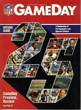 1985 Game Day National Football League,magazine, Special Issue 25th Anniversary