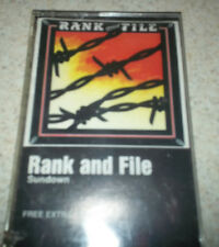 Rank and File Sundown USA Cassette Tape SEALED