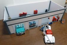 CUSTOM BUILT STURDY/QUALITY FOUR CAR GARAGE/STATION KIT 1:24 Scale Diorama!