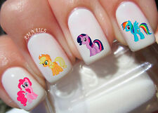 My Little Pony Nail Art Stickers Transfers Decals Set of 46