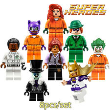 6 - Batman - pelicula - movie - minifigures LEGO - Barbara Gordon, Penguin