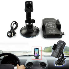 Qi Wireless Car Holder Charger Pad Transmitter For Samsung Galaxy S6 Edge Plus