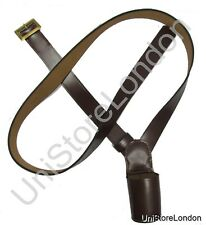Cross Belt,Flag Carrier,Belt Flag Holder, Brown Size 60 Inch R285
