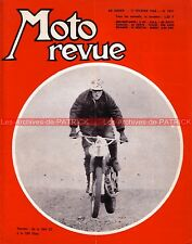 MOTO REVUE 1873 KAWASAKI 350 Avenger ; OSSA 230 Cross ; Jacques VERNIER 1968