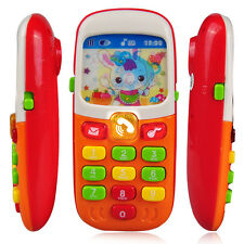 Electronic Toy Phone for Kids Mobile Phone Cellphone Telephone Educational Toys