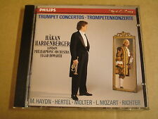 CD PHILIPS / HAKAN HARDENBERGER - TRUMPET CONCERTOS / ELGAR HOWARTH
