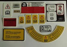 Ford Sierra Sapphire RS Cosworth 4wd Engine Bay Decals - best and cheapest