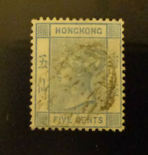 Hong Kong stamp #11 used F/VF
