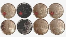 "RCM SET of 8 Limited Ed. Canadian Quarters ""The War of 1812"" - BEAUTIFUL!"
