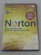 NEW - Norton Antivirus w Antispyware for Windows 7 Vista XP SEALED 2011