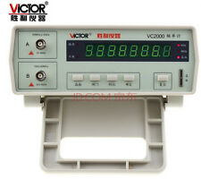 VC2000 Frequency Counter, 10Hz to 2.4GHz Tester  8-digit LED display