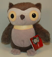2012 Aesop's Fables Gray Grey Owl Plush Stuffed Kohl's Cares For Kids