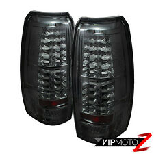 2007-2013 Chevy Avalanche [SMOKE LENS] LED SMD Rear Brake Tail Lights Lamps PAIR