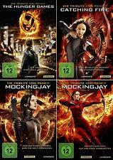 Die Tribute von Panem 1 + 2 + Mockingjay 3.1 + 3.2    | Alle 4 Filme | DVD | 101