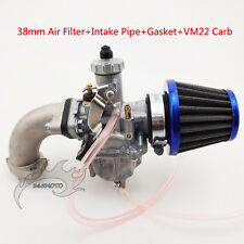 Mikuni 26mm Carburetor Intake Pipe Air Filter For 110 125 cc 140cc Pit Dirt Bike