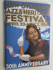 New Orleans Jazz and Heritage Festival 1999 Schedule of Events