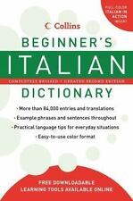 Collins Beginner's Italian Dictionary, 2nd Edition-ExLibrary