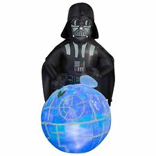 6 FT DARTH VADER DEATH STAR WITH SOUND Airblown Inflatable LED LIGHTS / MUSICAL