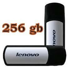 256gb USB 2.0 LENOVO t180 Flash Drive Chiavetta Memory Stick UK venditore.