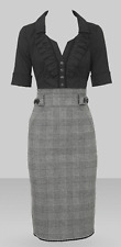 Karen Millen Tweed Shirt Dress UK 8