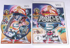 "Nintendo Wii juego ""Hot Wheels Battle Force 5"" completamente"