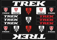 Trek Mountain  Bicycle Frame Decals Stickers Graphic Adhesive Set Vinyl White