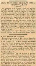 1919 Alfred Massey Coalville Bull Damages
