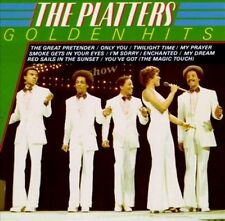 Golden Hits by The Platters (CD, Dec-1986, Mercury) CD & PAPER SLEEVE ONLY