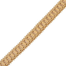 New Fashion Jewelry Mens Womens wristband 18K Gold Filled Chain Tennis Bracelet