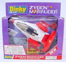 """Dinky Toys """"SPACE DUEL"""" ZYGON MARAUDER FIGHTER PLANE #368 New! MIB`79 TOP RARE!"""