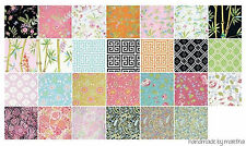 fabric charm Chinoiserie Chic Free Sprit Dena Designs Die Cut 5 inch 42 pc 5""