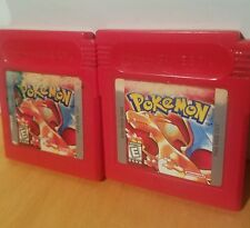 Pokemon Red Version Nintendo Game Boy Cleaned & Good Save Battery Nice!