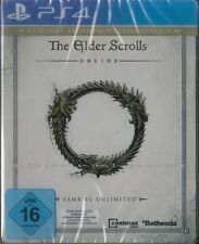 The Elder Scrolls Online: Tamriel Unlimited PS4 Entdecker Paket STEELBOOK & NEU