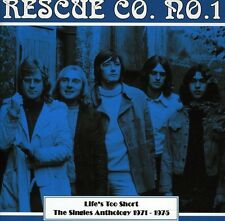 Rescue Co. No. 1 - Lifes Too Short: Singles Anthology 1971 - 1975 [New CD]
