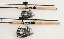 2 Shimano Syncopate 4000 Spinning Reels 6.5ft Rods NEW