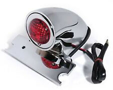 phare moto arriere feu pieces  bobber lampe chopper taillight chrome sparto