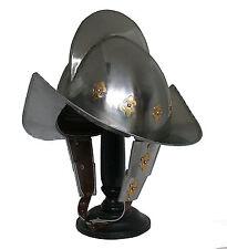 Morion Helm Ritter Mittelalter Rüstung Landsknecht Conquistador Re-enactmentR223